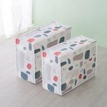 Сумки для хранения стеганых одеял PEVA багажные сумки Органайзер Домашний для хранения моющийся Водонепроницаемый пылезащитный шкаф для хранения одежды сумки для хранения
