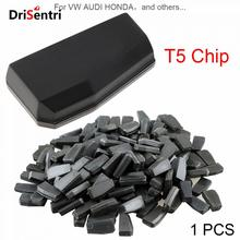 Blank T5 (ID20)  Carbon Chip Car Key Transponder Chip Fit for VW AUDI HONDA, etc New free shipping transponder key blank ym28 blade for tpx chip for opel 10piece lot