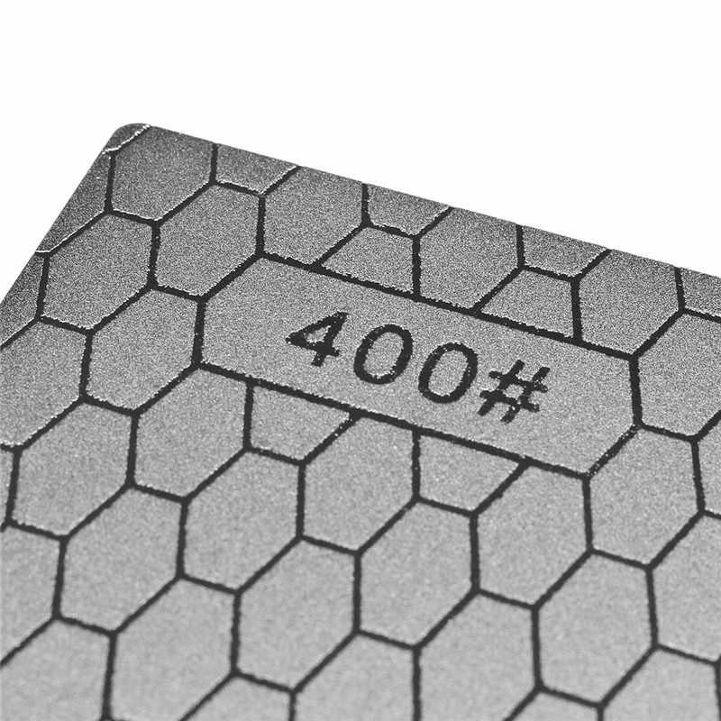 מקצועי 400 # דק יהלומי חידוד אבן סכיני יהלומי צלחת אבן משחזת סכין מחדד חידוד כלים