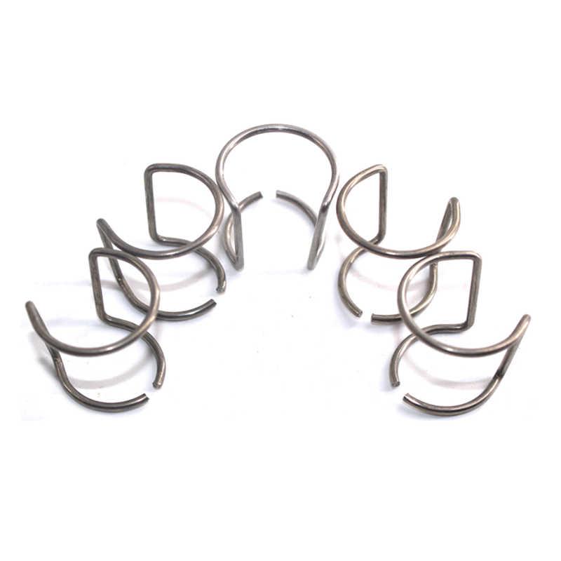 Tazas de cerámica Shield de 10 UDS y anillo de guía de 10 Uds./Cortador de Plasma por aire consumibles de soplete de corte Ag60/herramientas de pesaje/Accesorios