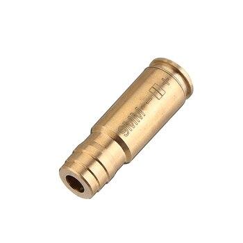 Лазерный прицел 9 мм с красной точкой, Латунный картридж, тактический охотничий прицел