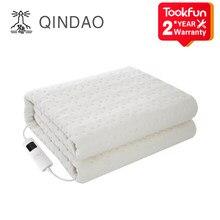 QINDAO – couverture chauffante simple et lavable QD, chauffage intelligent, élimine les acariens, contrôle de la température et du temps