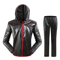 Waterproof Raincoat Suit Outdoor Fishing Fashion Sports Raincoat Unisex Riding Motorcycle Rainwear Suit Adult Xxl ABUX