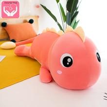 Cute Dinosaur Plush Toy Pillow Sofa Pillow Plush Doll Feathe