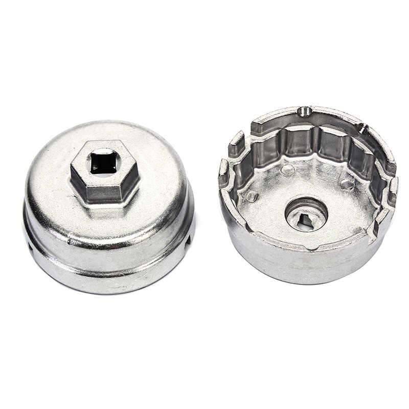 Schlüssel Kappe Buchse Remover-Tool für Lexus Toyota Lexus Corolla Highlander RAV4 Camry Universal Gehäuse 64,5mm Aluminium Öl Filter
