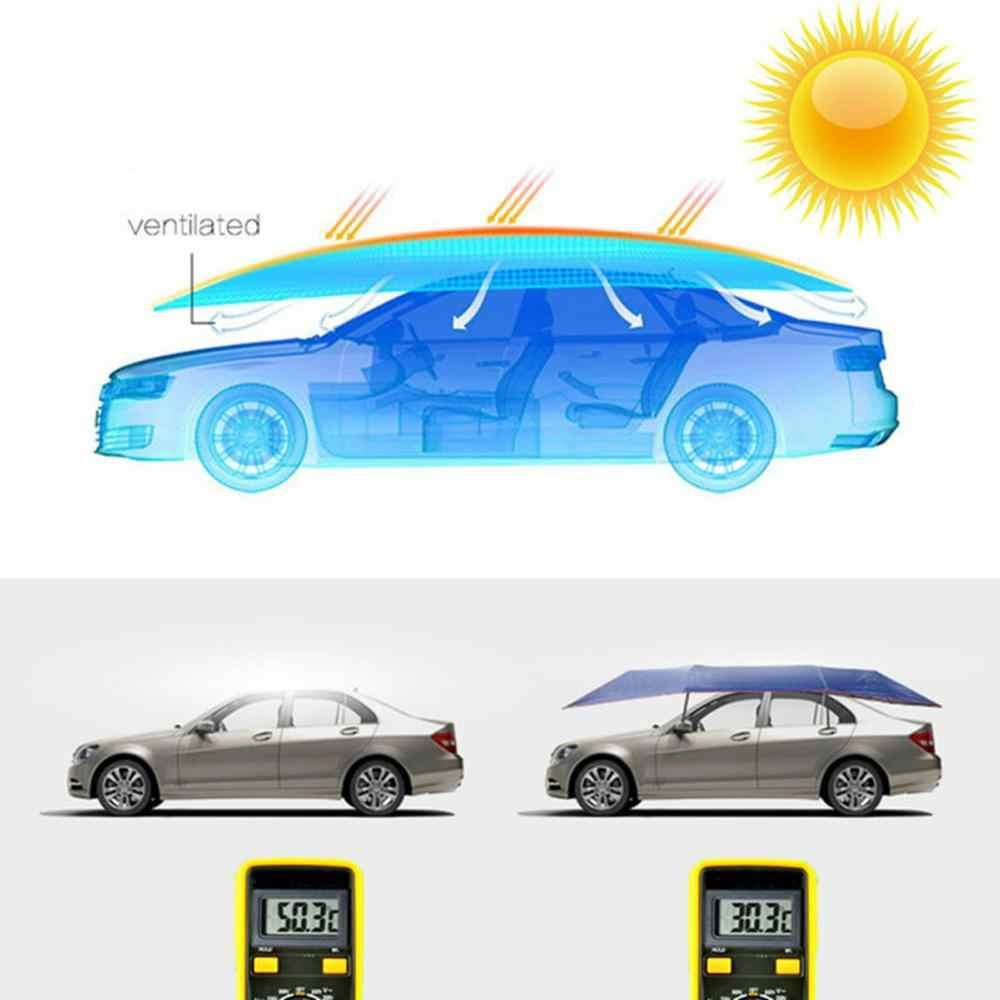 4X2.1Mกันน้ำป้องกันUVรถกลางแจ้งรถเต็นท์ร่มบังแดดหลังคารถร่มSun Shadeเปลี่ยนได้