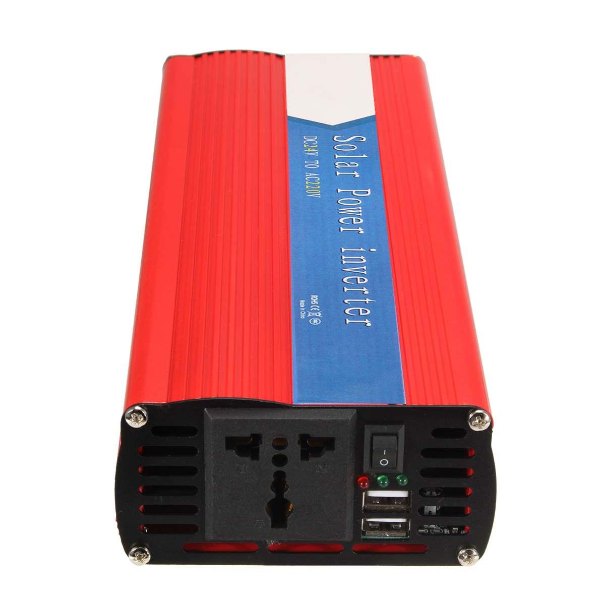 3000W Inverter Transformator Sinus Welle 12 Zu AC 220 USB Spannung Inverter Power Liefert Solar Power Inverter Intelligente Konverter