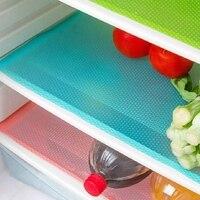 12 pacote de esteiras de geladeira  lavável geladeira esteiras forros à prova dwaterproof água almofadas de geladeira esteiras de mesa de gaveta forros de geladeira f|Forro de gaveta e prateleira| |  -