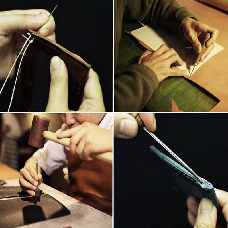 62 sztuk skórzane narzędzia rzemieślnicze zestaw do naszycia dziurkacz rzeźba pracy siodło akcesoria skórzane zestawy narzędzi ręcznych domu