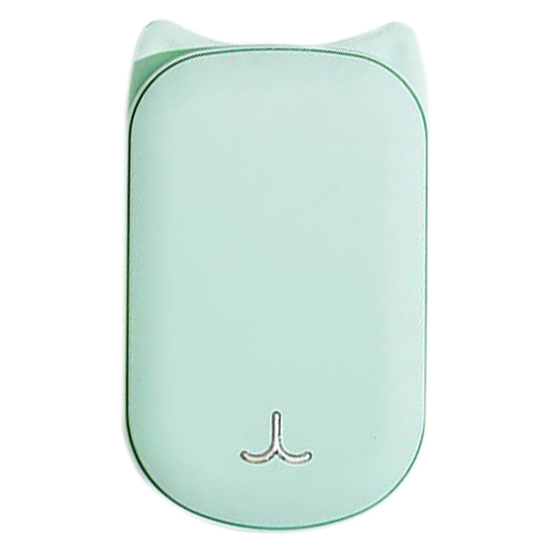 Cute USB Rechargeable Hand Warmer and 3600Ma Power Bank 5V Mini Portable Travel Handy Long Life Pocket Hand Warmer Green|Stove Hand Warmers| |  - title=