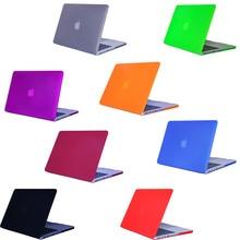 Matt notebook Laptop Cover For Apple MacBook Pro 13 case Air Retina 11 12 13 15 Mac Book Air 13 case 15.4 13.3 inch sleeve