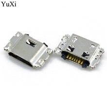 Мини разъем micro usb 7pin 50 шт порт для зарядки мобильного