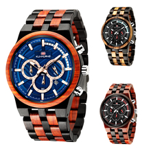 Handmade Wood Watches Men Luxury Brand Wooden Quartz Watch