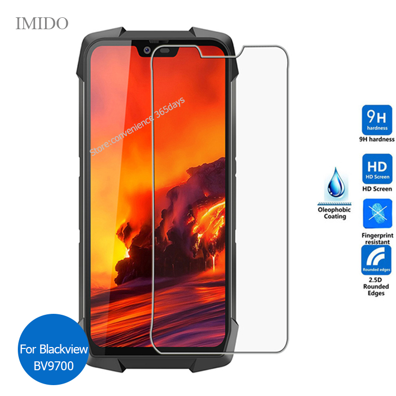 For <font><b>BlackView</b></font> Bv9700 <font><b>Pro</b></font> Tempered Glass Screen Protector 9h Safety Protective Film on Black View Bv <font><b>9700</b></font> image