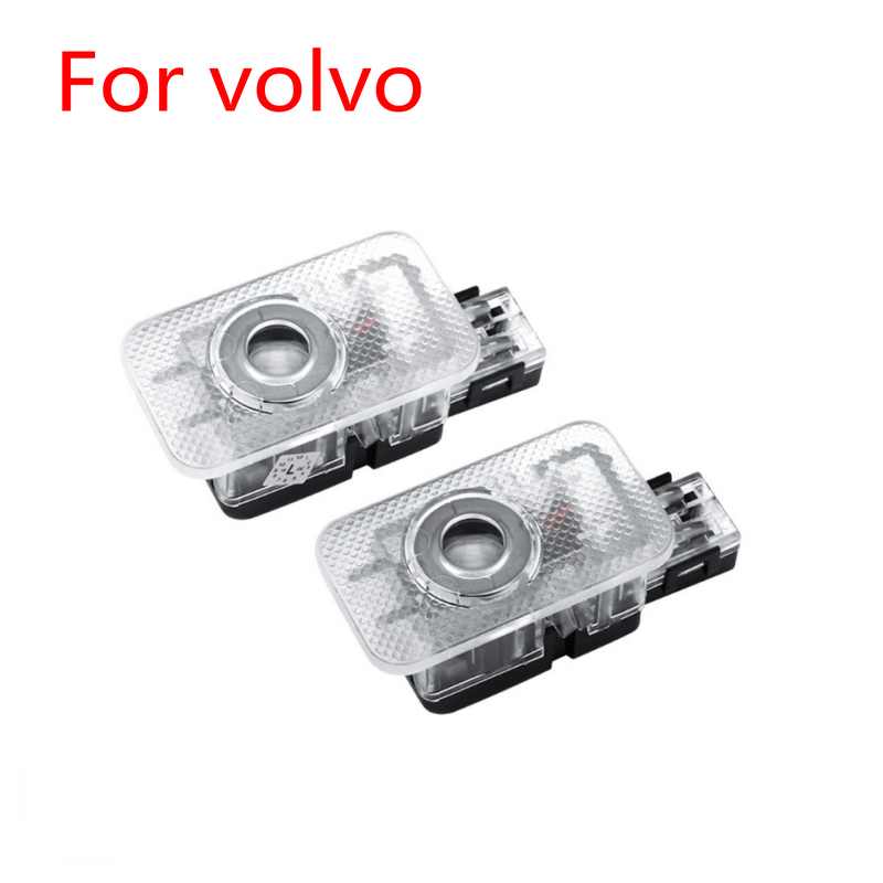 2pcs Led Car Door Welcome Light Lase Projector Logo Ghost Shadow Light For VOLVO XC60 XC90 S80 S60 S80L S60L V60 V40 2012-2019