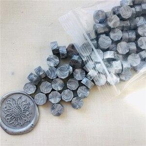 Image 2 - 100pcs/lot vintage sealing wax tablet pill beads granule/grain/strip sticks for envelope wedding Wax seal ancient sealing wax
