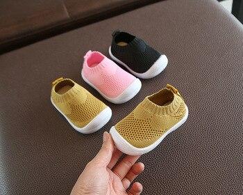Chaussures de marche pour bébés | Chaussures respirantes b pour bébés bébés filles et garçons, chaussures antidérapantes confortables et à semelle souple 1