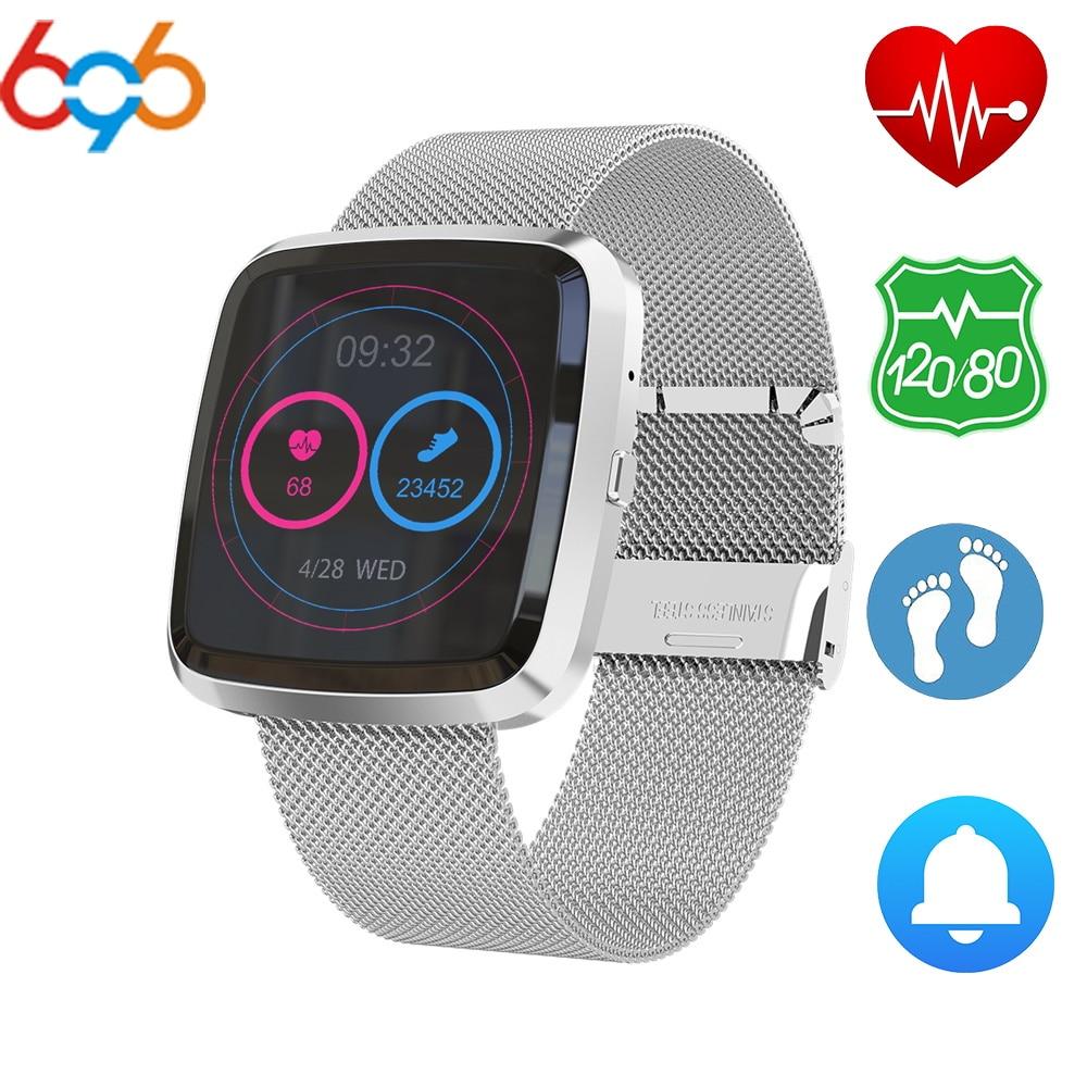 696 Smart Bracelet T2 Heart Rate Monitor Fitness Activity Tracker  Blood Pressure Smart Band Reminder IP67 Waterproof Watch