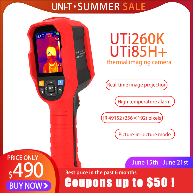 Thermal Imaging Camera With Photographed function and SD Card storage 5