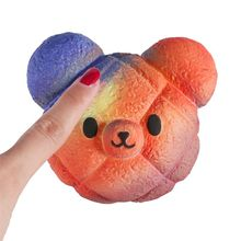 NEW Magic Bear Squishy Jumbo Squishies Toys Change Color Slow Rising Stress Relief Toy Squeeze Girl Gift R9UE