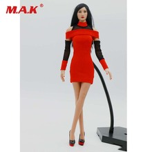1/6 Масштаб Сексуальная женская фигура одежда аксессуар в наличии красная юбка модельные туфли модель для 12 дюймов фигурку тела