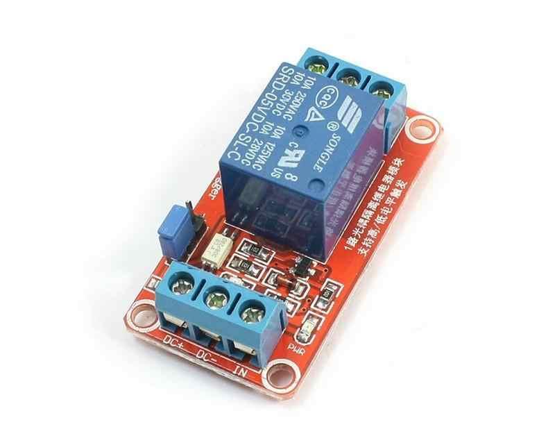 Met Optocoupler H/L Level voor Arduino Nieuwe Vertraging Schakelaar Vertraging Timer Relais Nieuwe Trendy 1-Kanaal relais Module