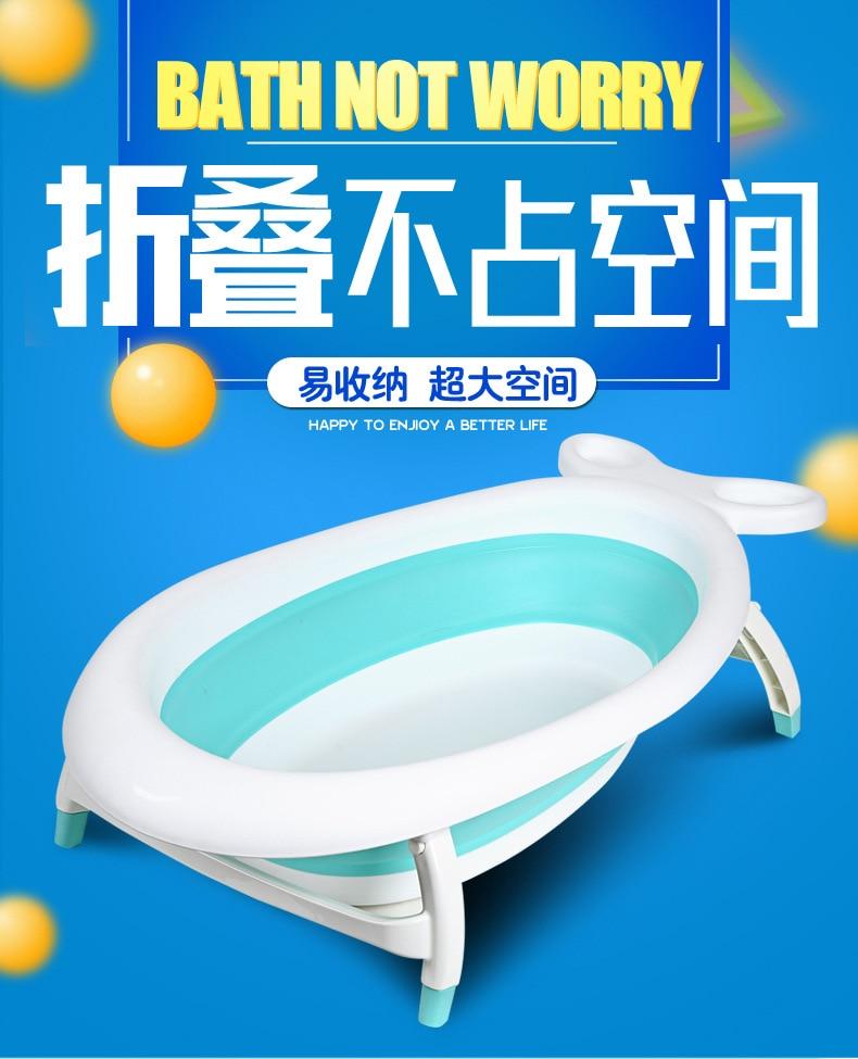 Baignoire pliante bébé enfants seau de bain baignoire pliante nouveau-né bébé baignoire pliante baignoire