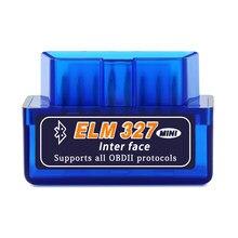 Obd2 Bluetooth V1.5 Mini Elm327 A5 A7 scanner OBD ferramenta de diagnóstico do carro para skoda octavia fabia superb rápida yeti Kodiaq
