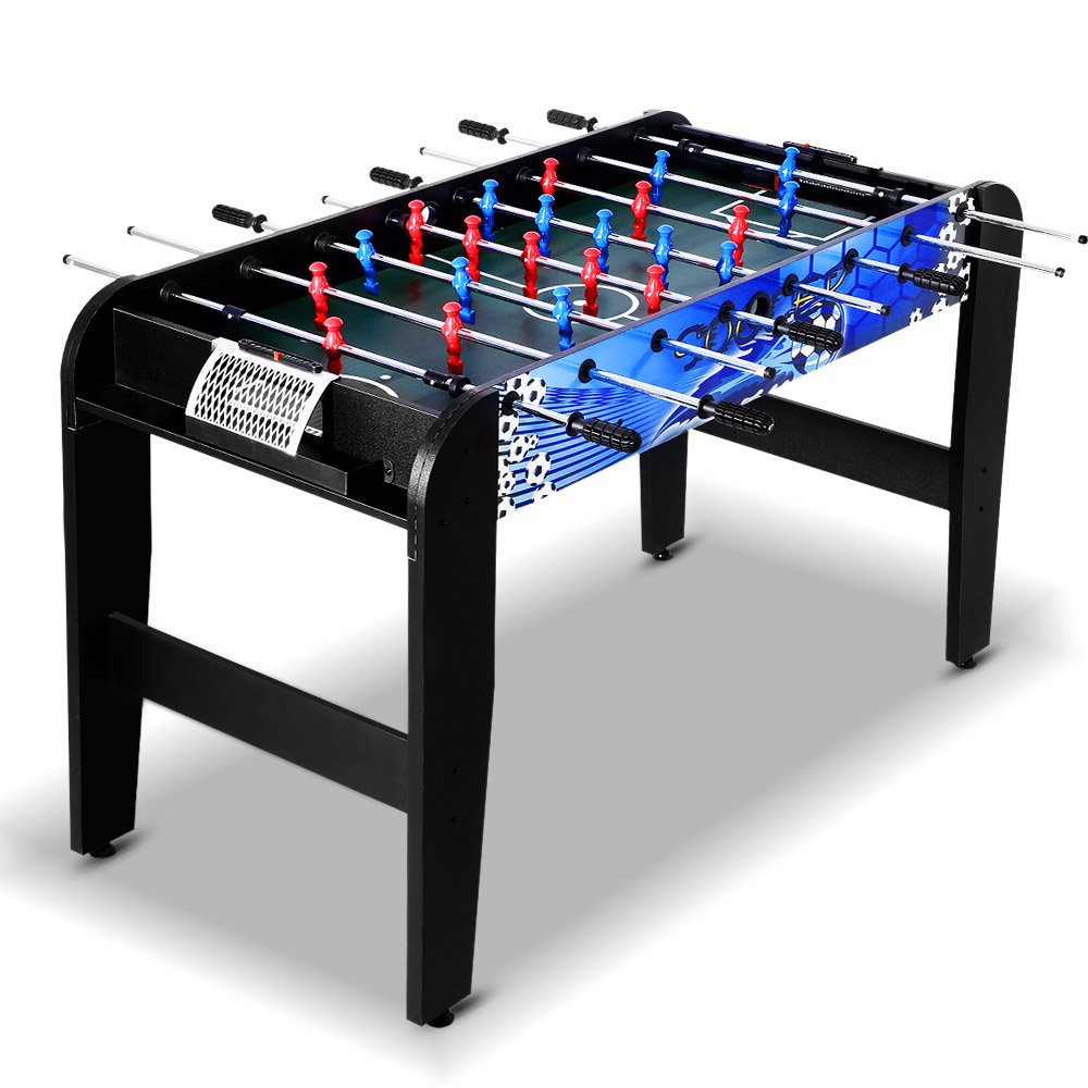 4FT Soccer Table Foosball Football Game Home Party Pub Size Kids Adult Toy Gift 4-In-1 Soccer Hockey Table Tennis And Pool Game