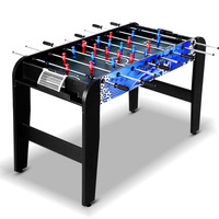 4FT Soccer Table Foosball Football Game Home Party Pub Size Kids Adult Toy Gift 4 In 1 Soccer Hockey Table Tennis Pool Game A2