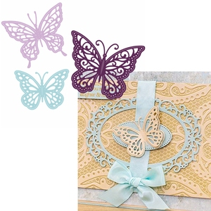 3 Fancy Butterflies Metal Cutting Dies Hollowed Butterflies Die Cuts For DIY Card Making Decoration New 2019 Crafts Cards