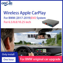 QMCAR Senza Fili di Apple CarPlay Carlinkit per BWM EVO Sistema Android Auto/Auto play Supporto Airplay Mirrorlink ios 13 Multimedia(China)
