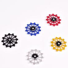 Bicycle Bike Rear Derailleur Ceramic Guide Pulley 12T Positive and Negative Tooth Wheel Ceramics Bearing