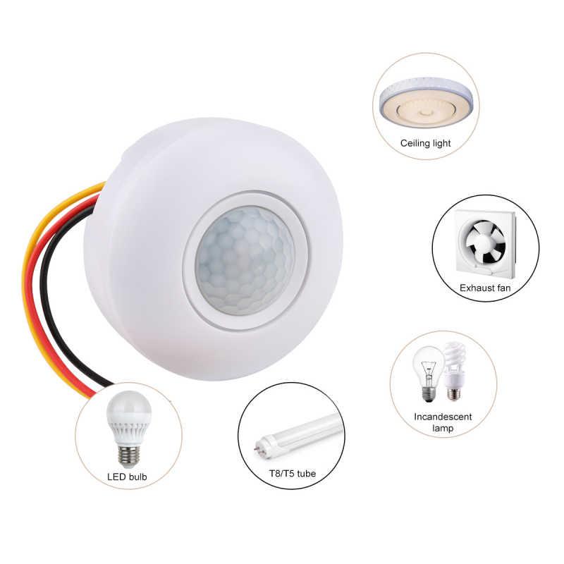 Инфракрасный датчик движения, инфракрасный датчик движения, инфракрасный переключатель потолочного освещения