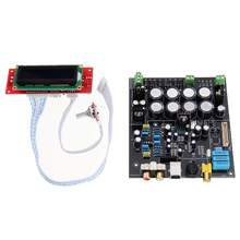 AK4490+ AK4118+ OP AMP NE5532 Decodificador мягкое управление DAC аудио декодер плата D3-003 без USB дочерней карты