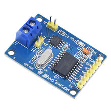 Mcp2515 can bus module tja1050 receiver spi protocol 51 microcontroller