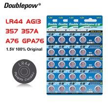 4 комплекта оригинальных кнопочных аккумуляторов lr44 ag13 357