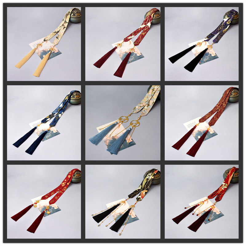 Hanfu Hair Band Ancient Style Tassel Men And Women Wiping Amount Super Fairy Headdress Ancient Accessories Hair Rope