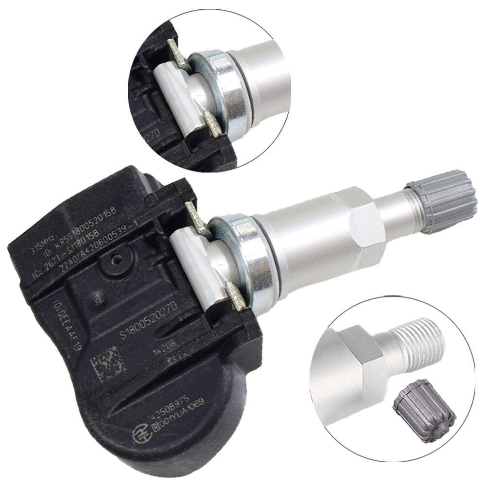 4 x Tyre Pressure TPMS Sensor Valve Stem Repair Renault Megane Mitsubishi Lancer
