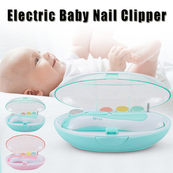 Portable Electric Baby Nail Trimmer Kids Scissors Infant Nail Care Safe Nail Clipper Cutter For Newborn Nail Trimmer Manicure D3 недорого