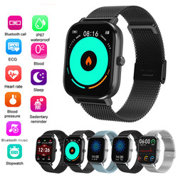 DT35 Sport Smart Watch Fitness Herz Rate Smart Armband Touch-screen IP67 FASHIONO 2020 smart watch für android oder Ios