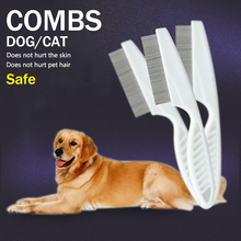 Dog Combs Pet Animal Care Comb Protect Flea for Cat Stainless Steel Comfort Hair Grooming