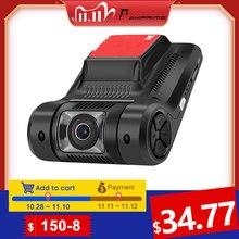 Podofo Mini caméra de tableau de bord numérique DVR pour voiture, Novatek, 96658, caméra de tableau de bord cachée, Wifi, FHD 1080P WDR, Vision nocturne