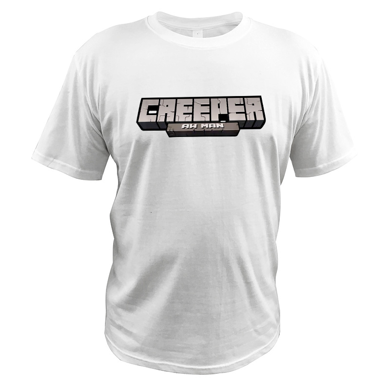 3D Creeper Aw Man Tees Boys Girls Fashion Top T-Shirts