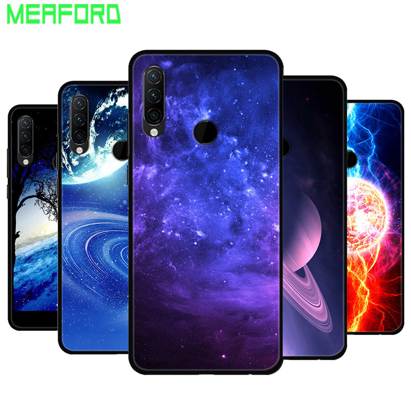 Silicone Case For Lenovo K10 Note Soft Art Print TPU Back Cover For Coque Lenovo K10 Note K 10 K10Note Black Bumper Phone Case