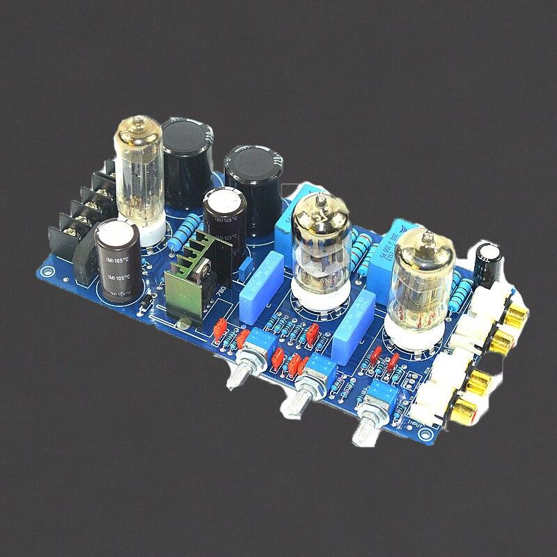 KYYSLB AC Double 150V AC8V AC6.3V Tube amplificateur carte de tonalité 6N1 accueil Audio Bile préampli carte de tonalité 220 UF/250 V 1% résistance en métal