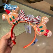 2020 nowy Disney Christmas Mickey Mouse Gingerbread Candy pałąk uszy pałąk Minnie Disneyland świąteczne dekoracje na prezenty tanie tanio CN (pochodzenie) Keep away from fire K201206 Urodzenia ~ 24 Miesięcy 8 ~ 13 Lat 14 lat i więcej 2-4 lat 5-7 lat Dorośli