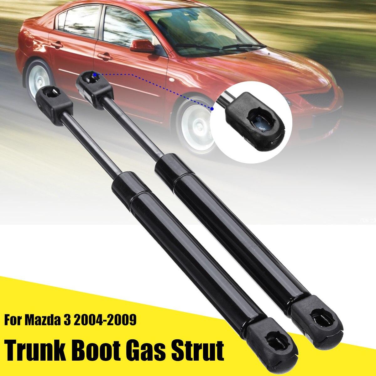 2 adet araba bagaj kapağı gövde Boot gaz süspansiyon grubu destek kaldırma Mazda 3 2004-2009 için BN8W56930 BN8V56930 BN8W56930A