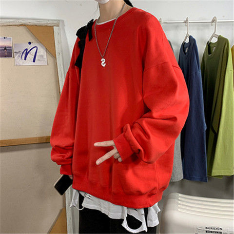 H0787fa453e284689bab317d6e050d0bfv loose Korean style plus size sweatshirt winter clothes streetwear women 2020 new fashion plus velvet oversize harajuku hoodie