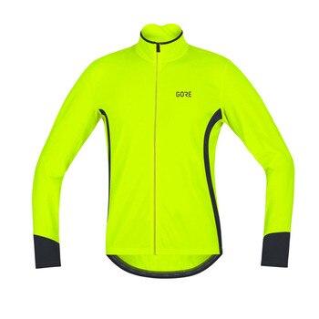 Gore-chaquetas de Ciclismo para hombre, Maillot de manga larga para bicicleta de...